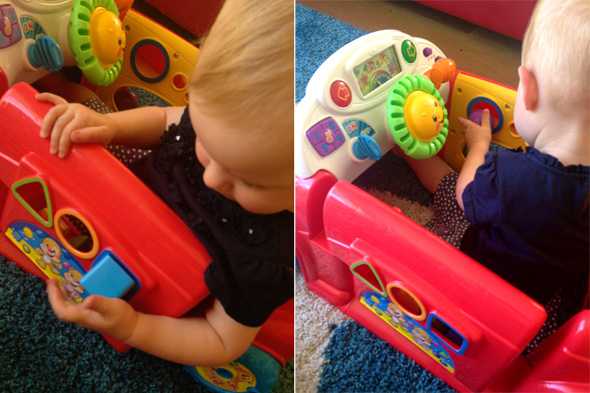Fisher Price Motor Skill Development | Childhood 101
