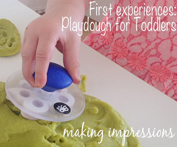Playdough fun for toddlers via Childhood 101