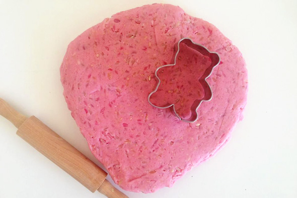 Textured playdough via Childhood 101