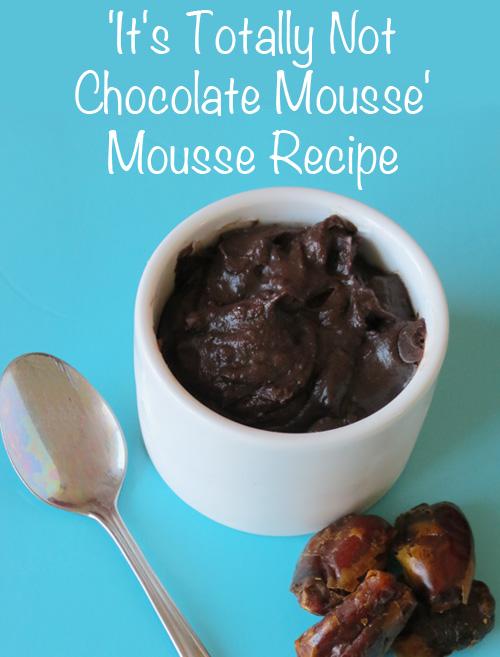 Vegan, Cane Sugar Free Chocolate Mousse recipe