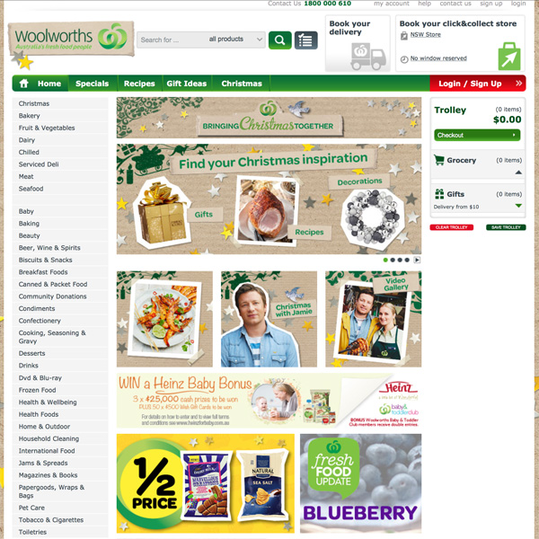 Woolworths online shopping