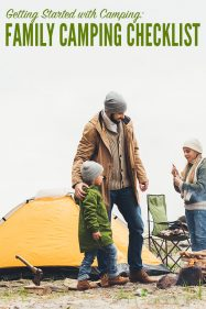 Getting Started with Camping: Family Camping Checklist Printable