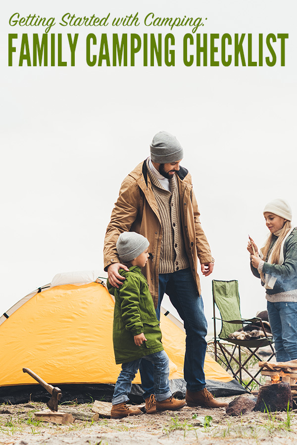 photo about Rv Camping Checklist Printable named Relatives Tenting Record: A Record of Tenting Fundamentals