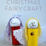 Christmas fairy craft