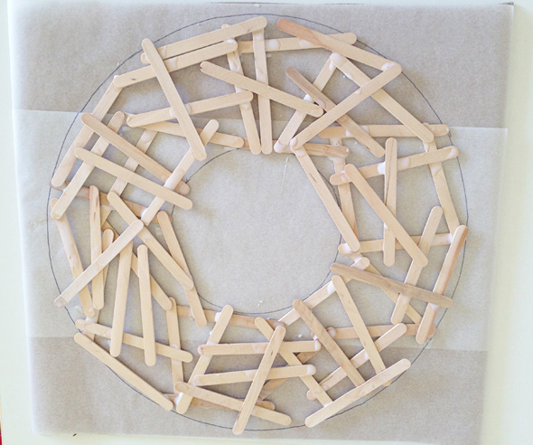Christmas ideas Simple Homemade Wreath