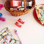 Christmas Invitation to Play: Santa's Workshop Wrapping Station