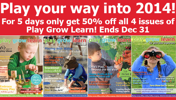 Play Grow Learn Holiday Sale