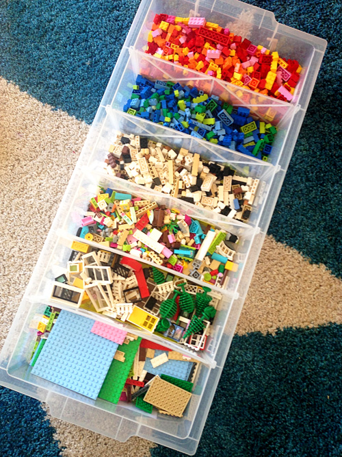 How To Organize Legos Via Childhood 101