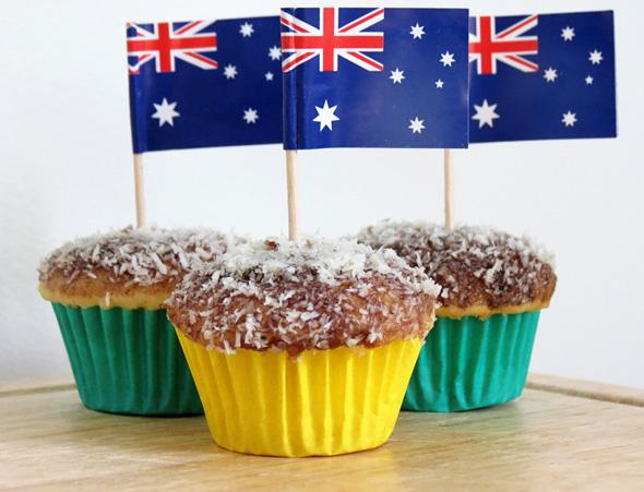 Lamington cupcake recipe
