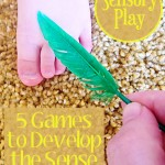 Sensory Play - Touch via Childhood 101