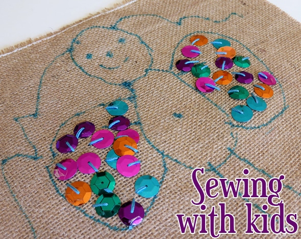 Sewing projects for kids starting out with embroidery