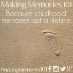The Making Memories 2014 Family Challenge