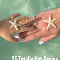 35 Totally Not Boring THings to Do at the Beach. Family Approved!
