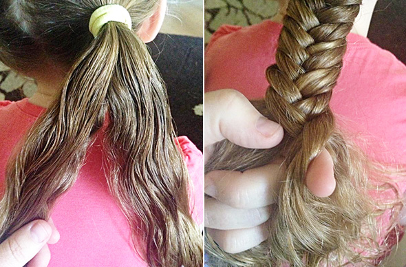 Hairstyles for School - Long Hair