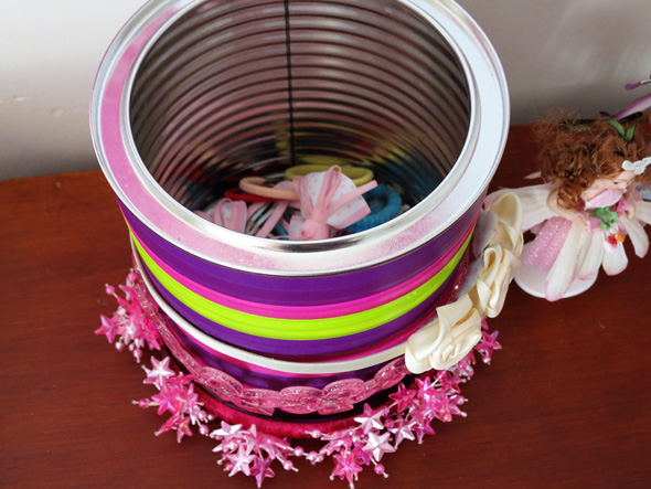 Headband storage ideas via Childhood 101