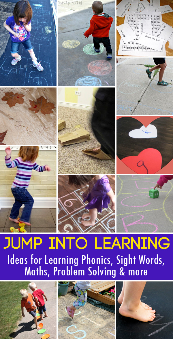 Jump Into Learning: Kinesthetic Learning Activities