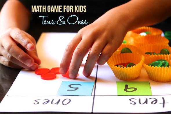 Maths Game for Kids: Teaching Tens & Ones