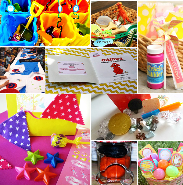 25 Loot Bag Or Party Favour Ideas For Kid's Parties