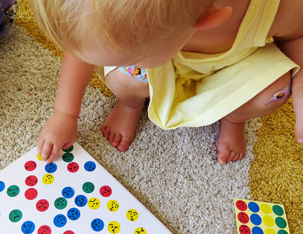 Activities for Toddlers - Emotions Stickers