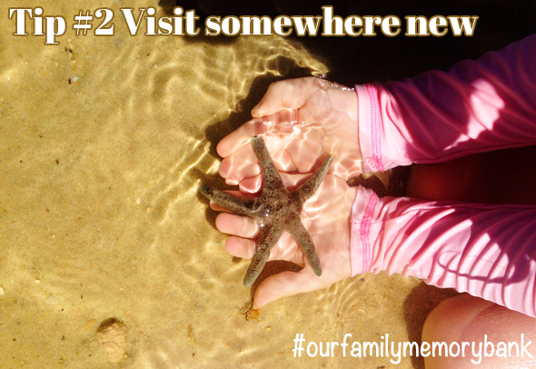 Things to do as a family: Visit somewhere new