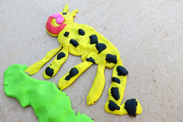 Art For Kids Modelling Clay Pictures