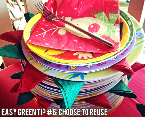 Easy green tips for frugal living: Choose to reuse