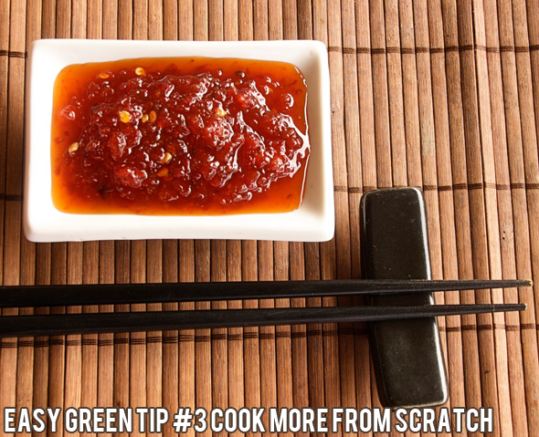 Easy green tips for frugal living: Cook more from scratch