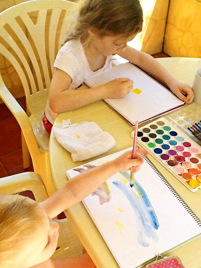 4 Family Fun Night Ideas: Art Time