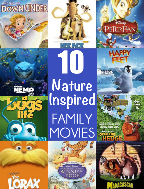 10 Nature Inspired Family Movies Childhood101