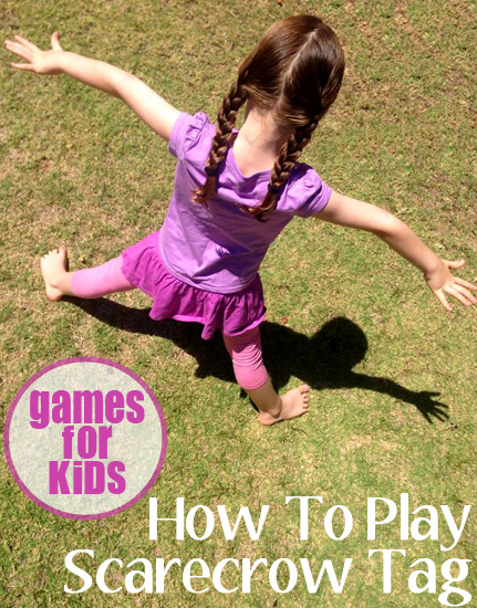 Games for Kids: How to Play Scarecrow Tag