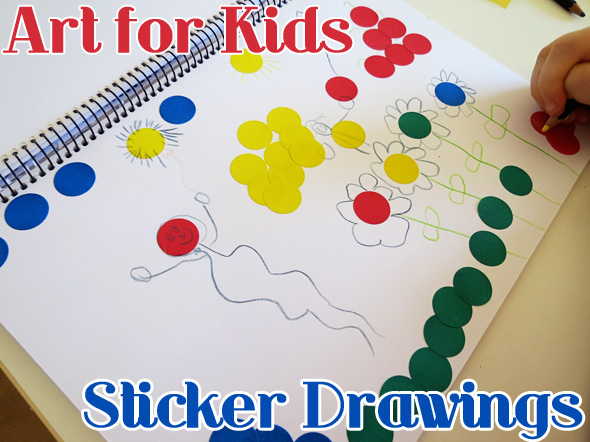 Invitation to Create Sticker Drawings | Childhood 101