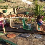 Outdoor Play Ideas Backyard Bus
