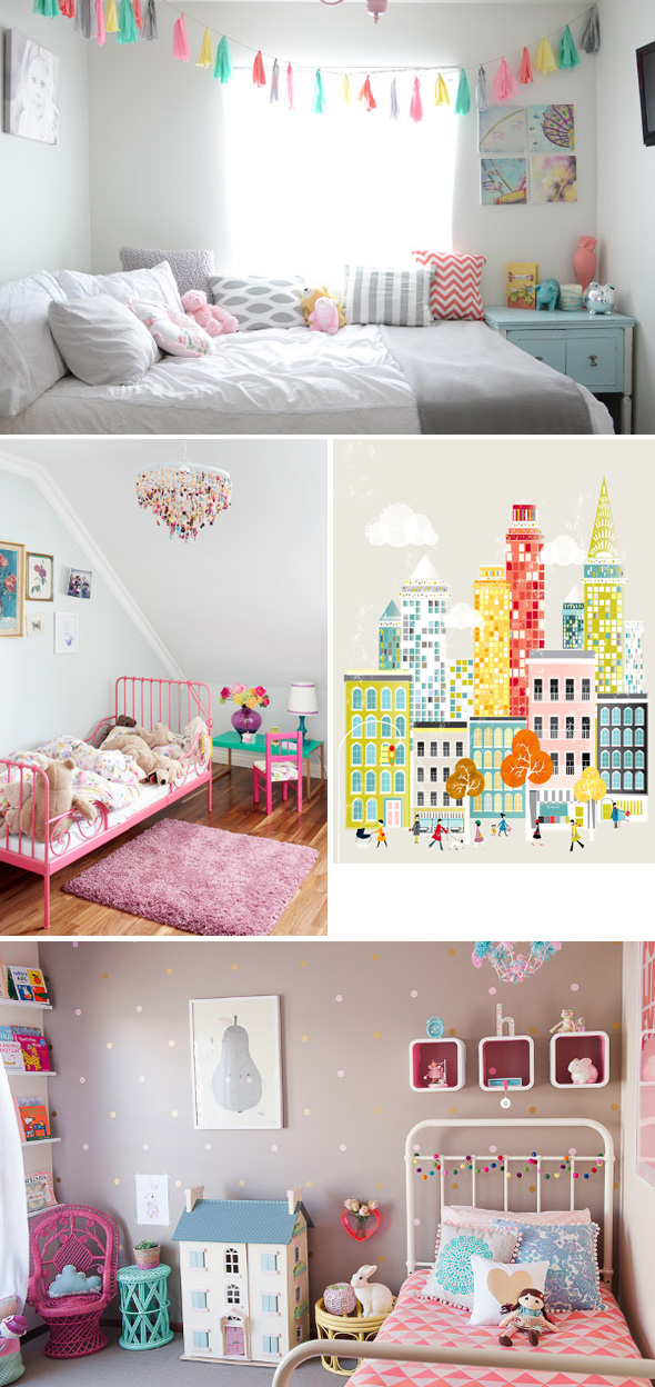 Kids Spaces: Make Your Toddler's Room Pop