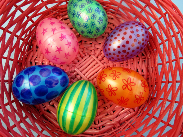 Activities for toddlers Easter Egg Pattern Matching