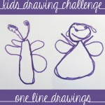 Drawing games: One Line Drawings via Childhood 101