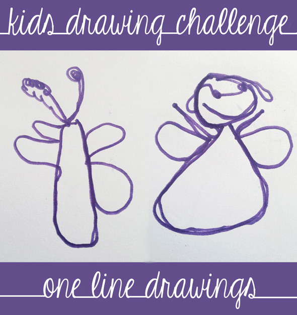 The Line Art Challenge : Drawing games for kids one line challenge