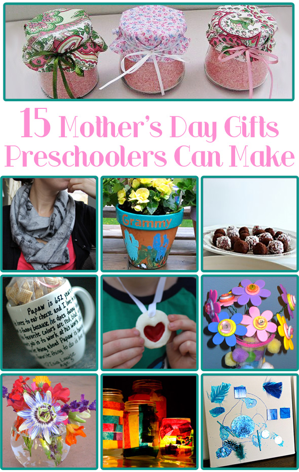 15 Mother's Day Gifts Preschoolers Can Make