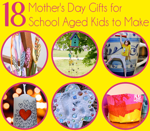 Mothers Day Gifts School Aged Kids to Make