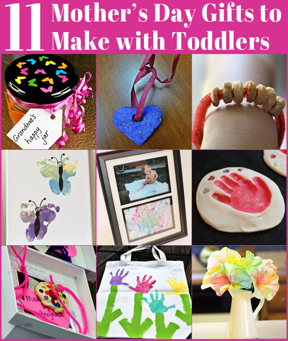 11 Mother S Day Gifts To Make With Toddlers Childhood101