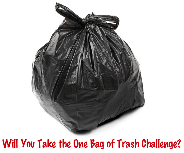 The One Bag of Trash Challenge