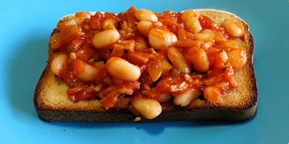 Healthy breakfast recipes: Homemade baked beans recipe