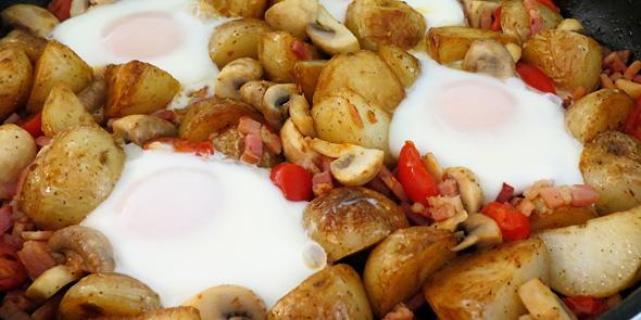 Healthy breakfast recipes: One pan recipe