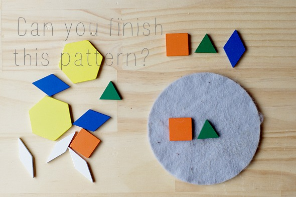 Activities for toddlers: Maths games