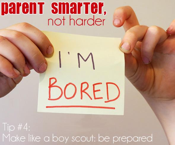 Parent Smarter, Not Harder: Being prepared