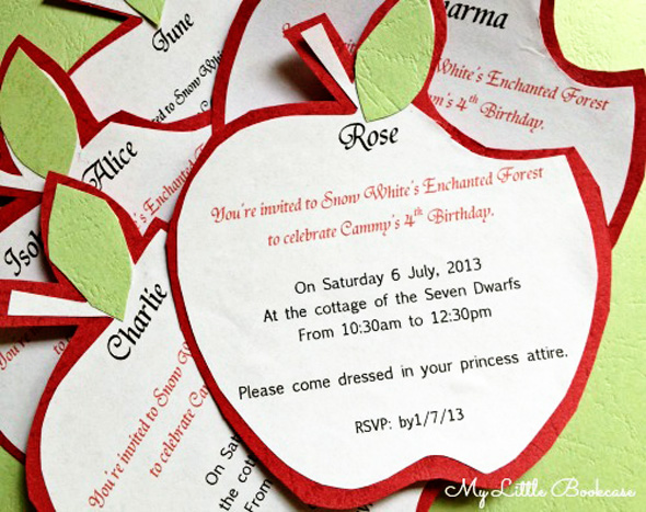 Budget children's birthday party ideas_Invitations