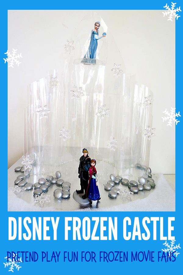 Disney Frozen Castle DIY Ice Castle