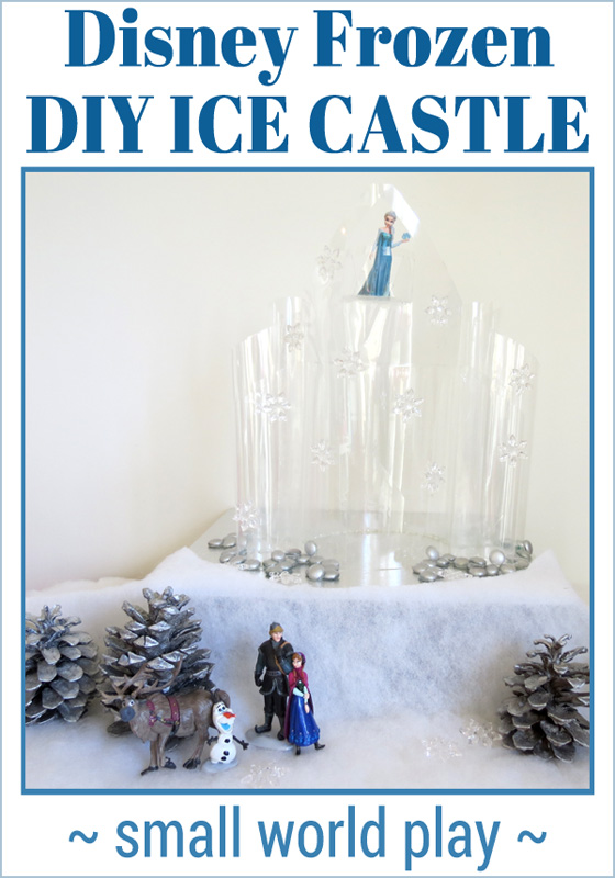 Disney Frozen Ice Castle DIY Craft
