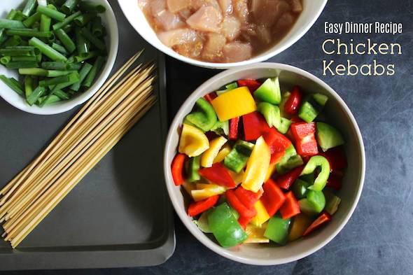 Easy Dinner Recipe Chicken Kebabs