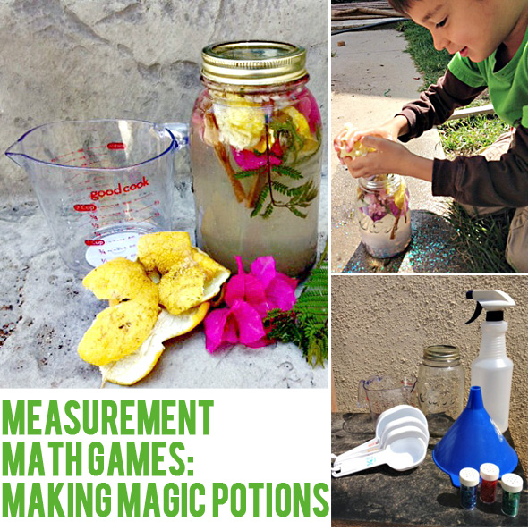 Math games: Magic mathematical potions