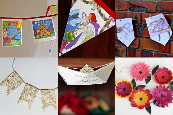 18 Ideas for Decorating Kids Spaces with Bunting & Kids Playroom Ideas: Decorate With Bunting